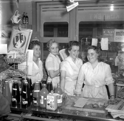 Haparanda Stads Bildarkiv. Jala 1957