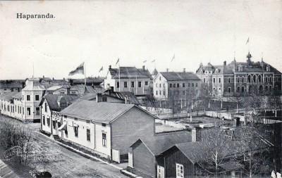 Vykort. Haparanda 1907
