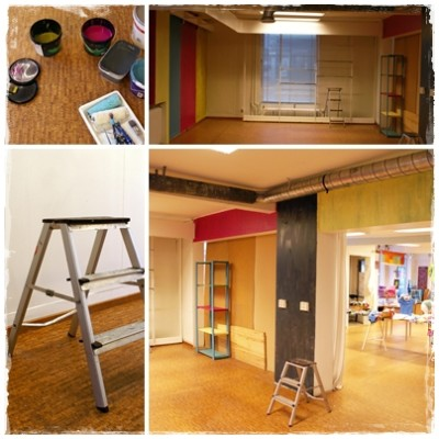 Nya färger i Jala-huset!