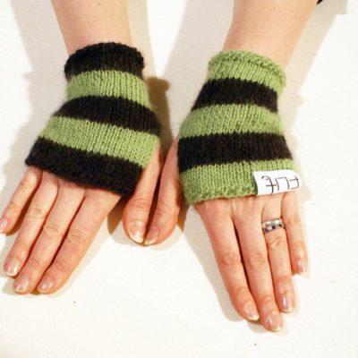 Pulsrand grön/svart