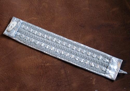 Tennarmband Silver 17cm