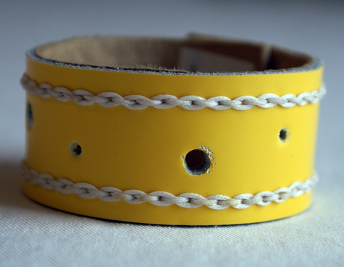 Armband Gult 17,5cm