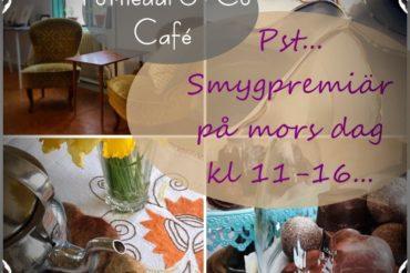 Smygpremiär för vårt café!