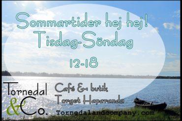 It's open! Välkommen till Café Tornedal!